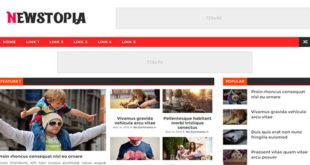 Newstopia Blogger Template
