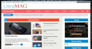 Ultra Mag Blogger Template
