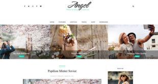 Angel Minimal Blogger Template