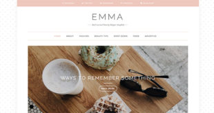 Emma Personal Blogger Template